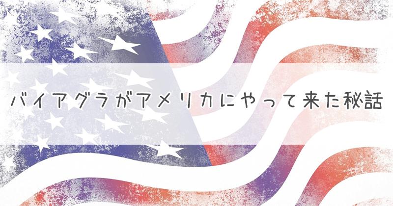 バイアグラがアメリカにやって来た秘話のキャッチ画像