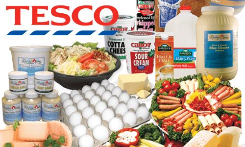 スーパーマーケットテスコのイメージ画像